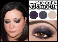 What is your favorite color smokey eye? We love this blue one using BFTE Purple Eyeshadow Looks, Brown Eyeshadow, Eye Color, Lip Colors, Too Faced Shadow Insurance, Beauty Makeup, Eye Makeup, Make Up Tricks, Blusher