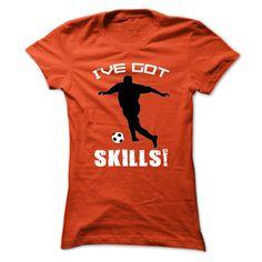 Ive got skills T-Shirts, Hoodies. BUY IT NOW ==► https://www.sunfrog.com/Sports/Ive-got-skills-63211049-Guys.html?id=41382