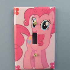 Official My Little Pony Pinky Pie Key Cap Holder For Keyring Keychain UK Seller