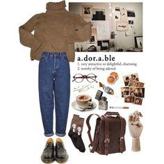 Vintage Outfits, Retro Outfits, Vintage Fashion, Teen Fashion Outfits, Fall Outfits, Casual Outfits, Womens Fashion, Aesthetic Fashion, Look Fashion
