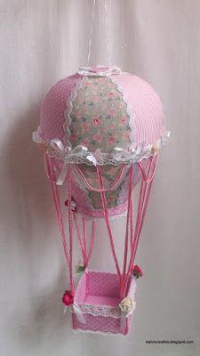 KATRIN творческая мастерская: Розово-принцессный воздушный шар