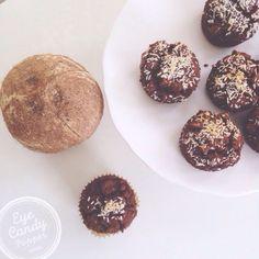 Chocolate coconut de  Chocolate coconut dessert muffins (gluten-free, vegan, refined cane sugar-free)  #healthy  https://www.pinterest.com/pin/528187862538866412/