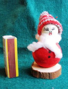 Vintage SWEDISH CHRISTMAS GIRL  DOLL SWEDEN Tomte Santa