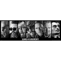 Sons of Anarchy Reaper Crew Poster