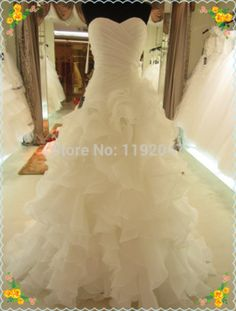TOP Selling New Year wedding dress sexy Ruffles Floor-length wedding dress sizes 2-22W Custom make Plus Sizes available