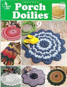 PORCH DOILIES - Chloe Taylor - Álbuns da web do Picasa...Online book with rug patterns!