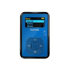 SanDisk Sansa Clip+ 4 GB MP3 Player (Blue)  for more details visit  : http://mobile.megaluxmart.com/