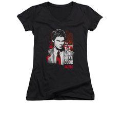 Dexter - Boy Next Door Junior V-Neck T-Shirt  sc 1 st  Pinterest & Maverick McConnell (follow minkshmink on pinterest) | Not the boy ... pezcame.com