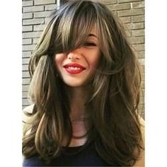 50 fun fresh ways to style long hair with bangs hairstyles 2019 Bangstyle Hair Long Bangs Fresh fun Hair hairstyles long Style Ways Side Bangs Hairstyles, Haircuts With Bangs, Medium Haircuts For Women, Woman Hairstyles, Long Thin Hair, Long Thick Layered Hair, Short Hair, Medium Hair Styles, Long Hair Styles