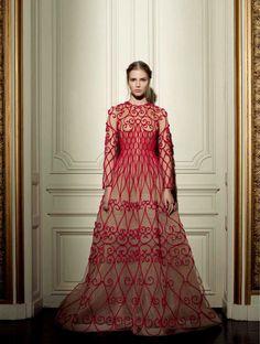 Valentino alta costura por Vogue Italia-15