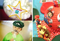 super mario birthday ideas | ... Mario Bingo and gave out the table decorations as prizes (small Mario