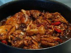 Surinaams eten!: Surinaams-Javaanse kip in ketjap met vijfkruidenpoeder en gember