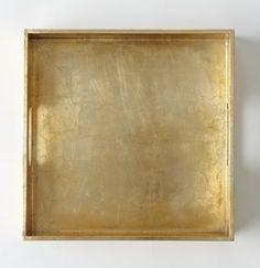 gold tray   pretend it's brass