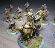 Un marshall dirige a un grupo de Húsares