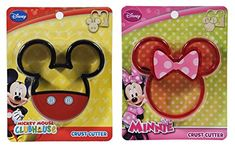 Disney Mickey  Minnie Mouse Crust Cutter 2 Pack * Read more reviews of the product by visiting the link on the image.