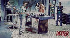 Dexter by metinp on DeviantArt Debra Morgan, Dexter Morgan, Harry Morgan, Dexter Season 3, Season 7, Boyish, Great Books, Deviantart, Pets