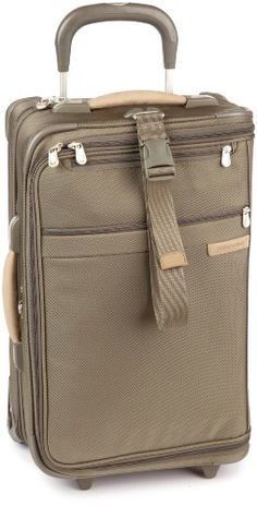 Briggs  Riley 22 Inch CarryOn Upright Garment BagOlive22x14x85 *** Details can be found by clicking on the image.
