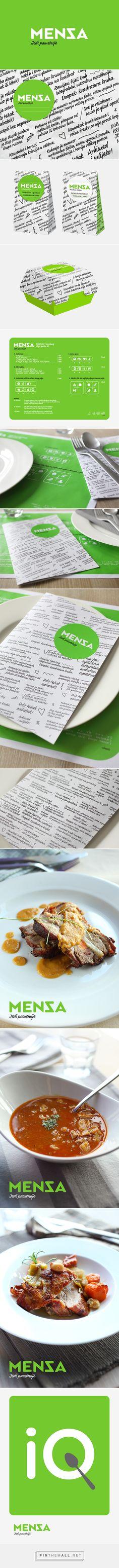 Mensa restaurant  on Behance | Fivestar Branding – Design and Branding Agency & Inspiration Gallery