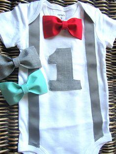 Atuendo de los muchachos cumpleaños  ropa de bebé niño