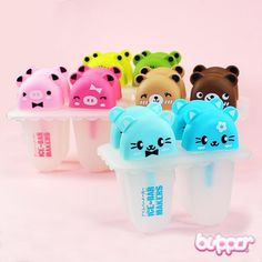 Kawaii Ice Bar Makers