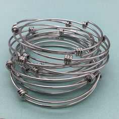 Bulk Lot 50 pcs Stainless Steel Adjustable Wire by VogueStuffs