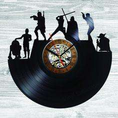 Star Wars Vinyl Clock