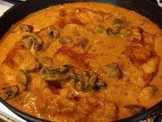 Bakonyi szelet   Horváth Ferenc receptje - Cookpad receptek Curry, Ethnic Recipes, Food, Curries, Essen, Meals, Yemek, Eten