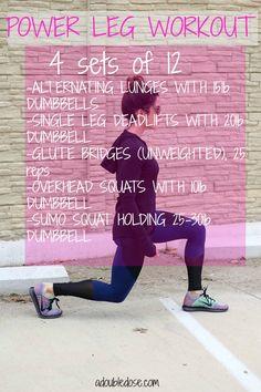 Leg Workout - Double