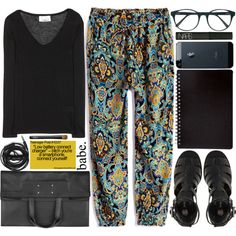 """""""And the life of this world is nothing but play and amusement"""" Surah Al An'am [6:32] by amongst-the-clouds on Polyvore featuring moda, 81 Hours, River Island, Maison Margiela, Prism, NARS Cosmetics and Urbanears"""
