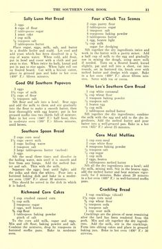 The Southern cook book of fine old recipes Retro Recipes, Old Recipes, Vintage Recipes, Cookbook Recipes, Bread Recipes, Recipies, Family Recipes, Copycat Recipes, Southern Cooking Recipes
