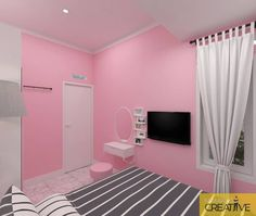 Home Sweet Home: These Are the Biggest Home Décor Trends of 2019 . Army Room Decor, Cute Bedroom Decor, Room Interior Design, Home Interior, Girl Bedroom Designs, Pink Room, Luxury Decor, Dream Decor, Dream Rooms