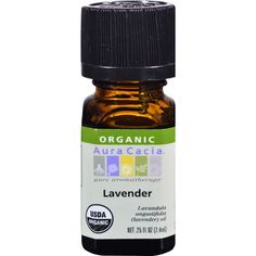 Lavender Oil Organic .25 OZ * For more information, visit now : Natural Beauty Care