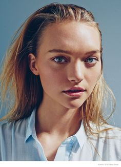 Gemma Ward is a Vision in Photo Shoot for Sunday Style October 2014- she's back