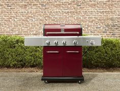 Kenmore gas grill red
