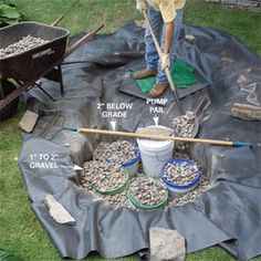 How to Build a Low-Maintenance Water Pond