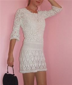 Graphics & Crochet: dresses