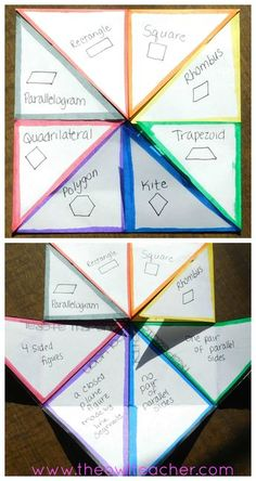 Teach polygons and geometry with these 10 ideas! These 10 activities will help you review the attributes of geometric shapes and there's a FREEBIE! Check it out NOW!