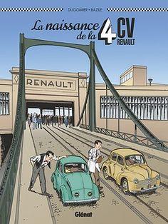 BD de Dugomier, Bruno Bazile. Petite par la taille, grande par le destin ! 1939, Salon de l'Automobile de Berlin. Ferdinand Picard et Charles-Edmond Serre, deux...