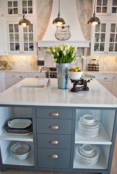 Whidbey Island Beach House - Kitchen Remodel beach style kitchen