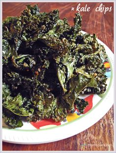 "Crispy ""Everything"" Kale Chips...tried these and they were very good!"