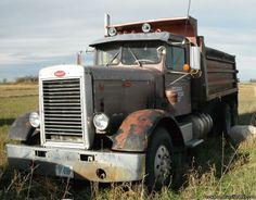 1960 Peterbilt classic dump truck.