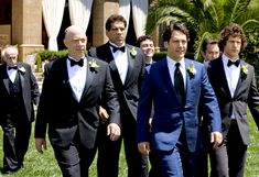 My husband will have to wear a blue tuxedo to our wedding thanks to this movie ... my husband will also have to be Paul Rudd <3