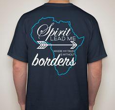 Kristen's Uganda Missions Trip Fundraiser - unisex shirt design - small - back
