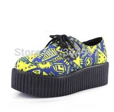 $20.99 (Buy here: https://alitems.com/g/1e8d114494ebda23ff8b16525dc3e8/?i=5&ulp=https%3A%2F%2Fwww.aliexpress.com%2Fitem%2FRetail-2014-Fashion-Women-Casual-Flats-Geometric-Block-Color-HARAJUKU-vintage-Punk-Gothic-creepers-Platform-Shoes%2F1988457891.html )