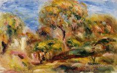 Pierre Auguste Renoir Landscape oil painting reproductions for sale