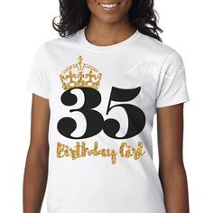Milestone Birthday Shirt | Tshirt | Top | Tank | 30th | 35th | 40th | 50th | Birthday | Birthday Girl | Glitter | Bling | Sparkle | Queen