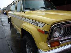 A friend of an acquaintance offered to trade me a 1979 Jeep Cherokee if I […] Cherokee Chief, Jeep Cherokee, Dodge Trucks, Jeep Truck, Jeep Wagoneer, Jeep Gladiator, Jeep Stuff, Broncos, Jeeps