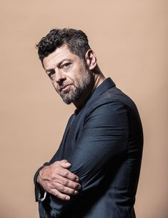 Andy Serkis is another one of my all time favorite actors. You may not recognize his face and that's because he does mocap and voice acting for a lot of big movies. Such as Golem in Lord of the Rings and Hobbit trilogies . Ceaser in the recent planet of the apes films. He plays Supreme Leader Snoke in Star Wars. He is Klaw in Avengers age of ultron (non CGI) and will play klaw again in Black Panther. To name a few.