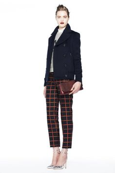 j.crew fall 2013 collection look book.  J.Crew Fall 2013 Outfit Idea: Look Sharp in Modern Takes on Classic Patterns