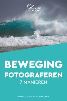 Fotografie tips en instellingen: 7 manieren om beweging te fotograferen. Ken jij ze allemaal? #fototips